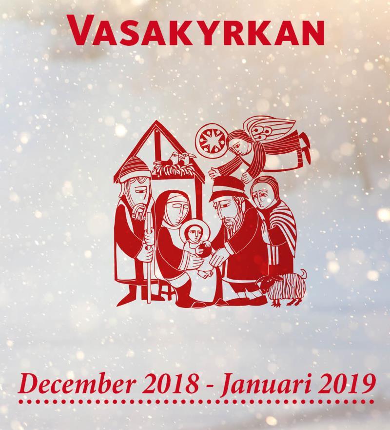 Reklam för julens konserter ochgudstjänster