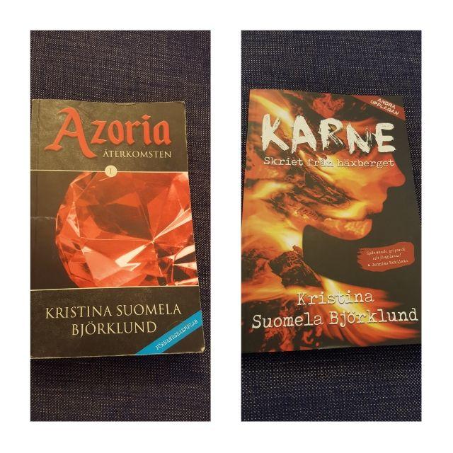 Två böcker av Kristina SuomelaBjörklund